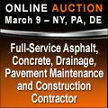 Online Asphalt Auction